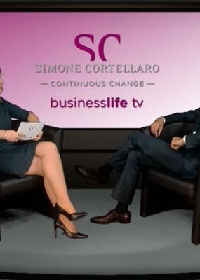 Fernseh-Interview von Simone Cortellaro mit Dr. Barun Sarkar im August 2017