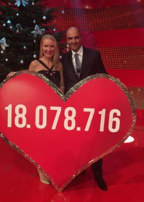 """MIT e.V. bei Spenden-Gala """"Ein Herz für Kinder"""" im Dezember 2016"""